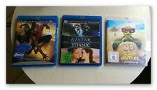 Blu-ray AVATAR 3D ,Titanic 3D ,Sammys Abenteuer 3D, Spiderman 3  !!! Neu !!!