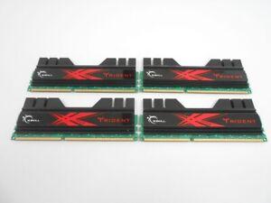 G.Skill Trident 8GB (4x2GB) F3-16000CL9D DDR-32000 PC3-1600 DDR3 Ram