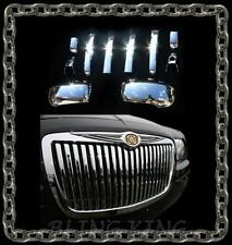 Chrysler 300 chrome vertical grille bar grille door handle mirror cover trim kit