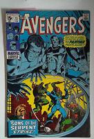 The Avengers #73 (1970) Marvel 7.0 FN/VF Comic Book