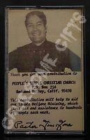 Rev. Jim Jones You Better Get On My Team Cassette Tape 1973 Suicide Cult Sermon