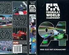 GENUINE AUTHENTIC F1 1994 REVIEW VHS FORMULA ONE OFFICIAL REVIEW VIDEO