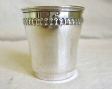 TIMBALE ARGENT MASSIF vers 1900 solid silver Cup