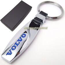 Volvo V70 Leather Keyring Keychain Schlüsselring Porte-clés V70r Estate D5 T5 D4 Keyrings & Keyfobs