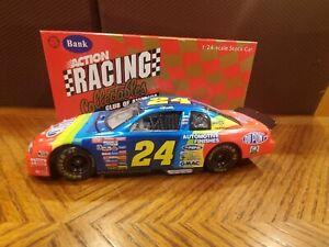 1/24 Jeff Gordon #24 1998 DuPont Chevy Monte Carlo Action Clear Window Bank