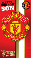 Manchester United Birthday Cards - FREE 1ST CLASS POSTAGE
