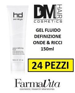 24 PEZZI FARMAVITA HD WAVE DEFINING FLUID 150ml GEL DEFINIZIONE ONDE RICCI