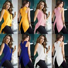 Women Fashion Slim Sport Vest Top Sleeveless Blouse Gym Fitness Tank Top T-Shirt