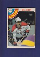 Bill Riley 1978-79 O-PEE-CHEE Hockey #292 (NM)