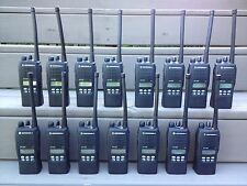 Lot of 50 MOTOROLA HT1250 VHF 136-174MHz 128ch portable radios AAH25KDF9AA5AN