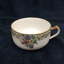 LIMOGES Haviland NARCISSUS Fine China Flat Tea Coffee Cup Vintage