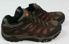 Merrell Moab Mens 11.5 Brown Suede Gore-Tex Hiking Shoes Vibram Sole Waterproof