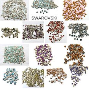 Swarovski #4428 4x4 MM Square Fancy Stone PRINCESS Crystal 22 Col FREE SHIPPING
