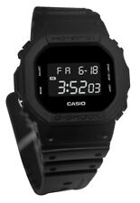 Casio DW5600BB-1 G-Shock LCD Digital Dial Black Resin Band Watch New