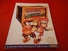 Donkey Kong Country 2 Super Nintendo SNES Strategy Guide Player's Hint Book #B1