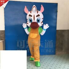 Christmas Zebra Mascot Costume Cosplay Adults Animals Props Cartoon Unisex Dress
