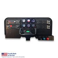 Flight Velocity Mid Profile Cockpit Panel-Saitek/Logitech Flight Sim Compatible