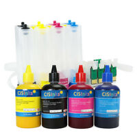 Empty CISS with Sublimation Ink Set for Epson Workforce WF-7710 WF-7720 T252