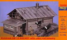 BUM Models 1/72 RUSSIAN RBT-5 ROCKET LAUNCHER with ISBA & INFANTRY Figure Set