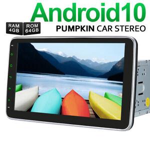 "Pumpkin 2 DIN 10.1"" Android 10.0 Autoradio 4GB+64GB GPS Navegador DAB+ WIFI USB"