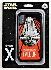 Disney Exclusive Star Wars Millenium Falcon Apple Iphone 10 X Cellphone Case NEW