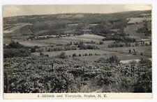 RPPC Widmer's Wine Vineyards Winery NAPLES NY Ontario County Real Photo Postcard