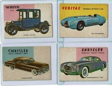 1954 Topps World on Wheels - Lot of 4 Cards