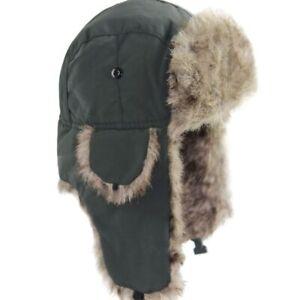 New Russian Hat Men Trapper Bomber Warm Trooper Ear Flaps Women Winter Ski Hats