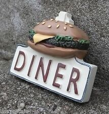 Diner Sign Miniature 3 Dimensional For Your O Scale Model Train Display