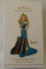 Hallmark 2011 Barbie Doll Happy Birthday Design New Christmas Keepsake Ornament