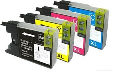 BROTHER SET OF 4 INKS B/C/M/Y LC1280 LC-1280 DCP J525N J925W J525W J525DW J925DW