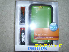 Philips Silicone Case with Batteries for Ipod touch G2 NEW IN BOX GR8 4 HOLIDAY