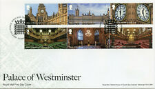 GB Architecture Stamps 2020 FDC Palace of Westminster Big Ben 6v Set in 2 Strips