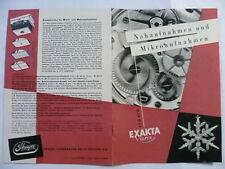 Exakta Varex Nah- und Mikroaufnahmen + 5 Sonderdrucke dazu