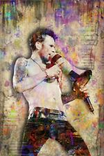 SCOTT WEILAND Memorial 24x36in Poster Scott Weiland of STONE TEMPLE PILOTS