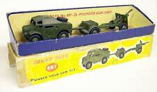 Dinky Toys Meccano Vintage - 697 25 Pounder Field Gun Set + Box Diecast models