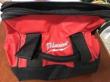 "*New* Milwaukee 13"" x 7"" x 6"" Heavy Duty Contractors Small Tool Bag L@@K"