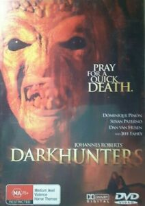 Dark Hunters DVD Dominique Pinon, Susan Paterno 2004 Horror Movie RARE OOP - R4