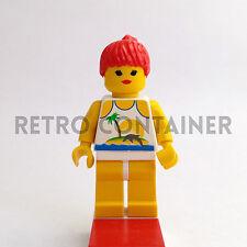 LEGO Minifigures - Woman - par023 - Paradisa Town Omino Minifig Set 6547