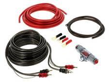 Kabel Set Verstärker 10mm² Endstufen Subwoofer Kit mit Chinchkabel 5 Meter Auto