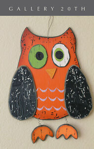 WOW! VTG MID CENTURY MODERN OWL WALL ART! 1950'S EICHLER CASE STUDY DECOR RETRO
