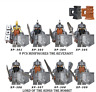 8 Pcs / Set Minifigures The Revenant Lord Of The Rings The Hobbit Lego MOC 2020