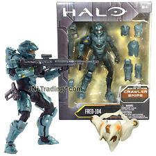 Year 2016 HALO Crawler Snipe Series 6 Inch Tall Figure : Spartan FRED-104