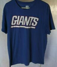 NFL team apparel New York Giants spellout *Size L* Shirt