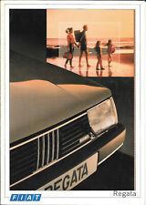 Fiat Regata Range November 1986 Brochure