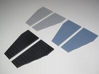 Lego ® Lot x2 Plaques Ailes Avion Vaisseau Plate Wings Choose Color 30355+30356