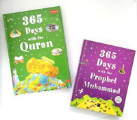 365 Days with the Prophet Muhammad (saw) / 365 Days with Quran - 2 Books (HB)