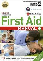 First Aid Manual by DK, Good Used Book (Paperback) FREE & FAST Delivery!