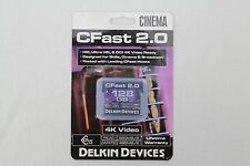 NEW - Delkin Devices 128GB Cinema CFast 2.0 Memory Card #DDCFST560128