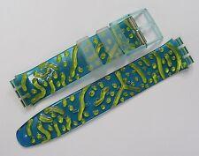 Swatch Scuba Armband SDL900 Reef - 17mm Band Scuba200 Kunststoff grün 1997